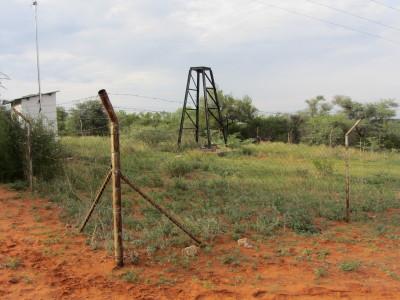 Brunnsområdet i Palla Road som identifierats som lämpligt för brunnsinfiltration